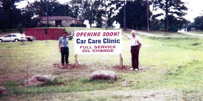 Car Care Clinic Groundbreaking on Brandon Location, 1996
