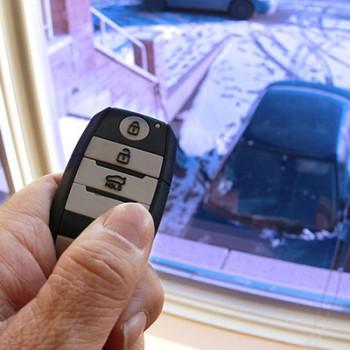 Remote Start Car in Winter