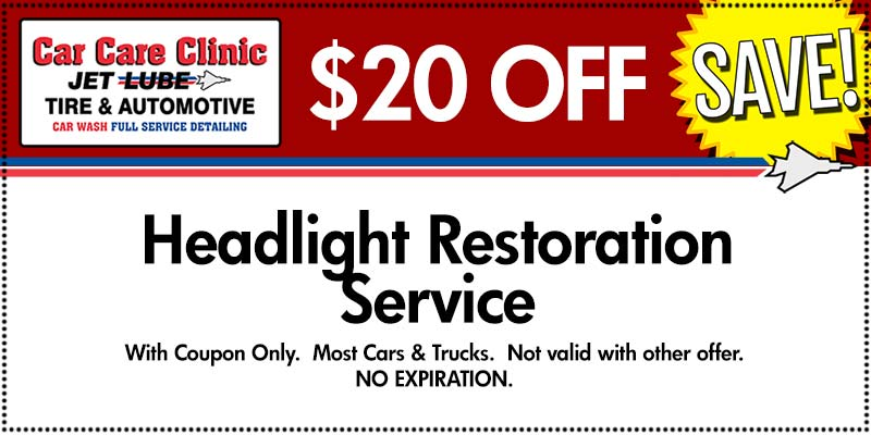 Car Care Clinic Savings Coupon