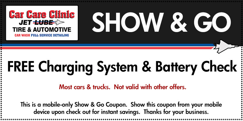 FREE Charging System / Battery Check