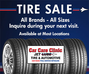Save right now on all tire sizes and brands.