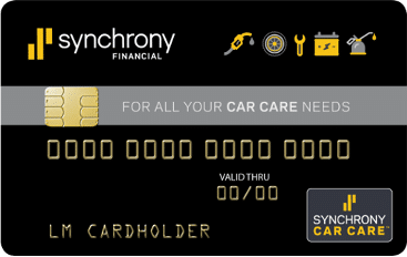 Synchrony Auto Service Credit Card